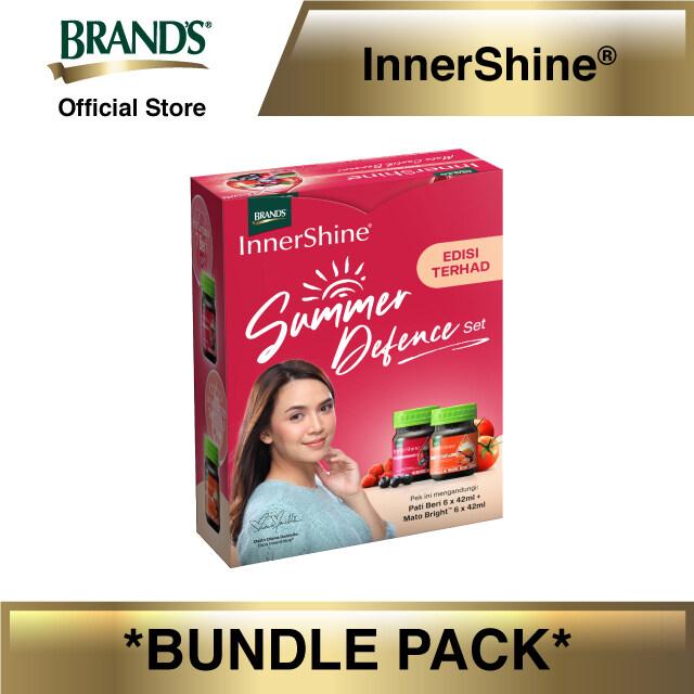 InnerShine Summer Defense Set (InnerShine Berry Essence 6's x 42ml + InnerShine Mato Bright 6's x 42ml)