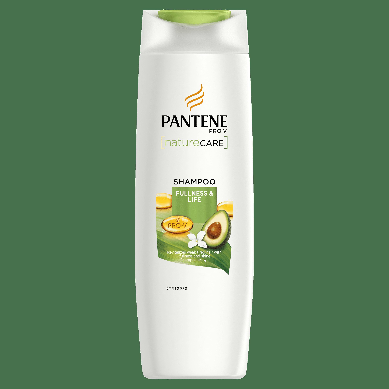 PANTENE Pro-V Nature Care Shampoo 340ml - Fullness & Life