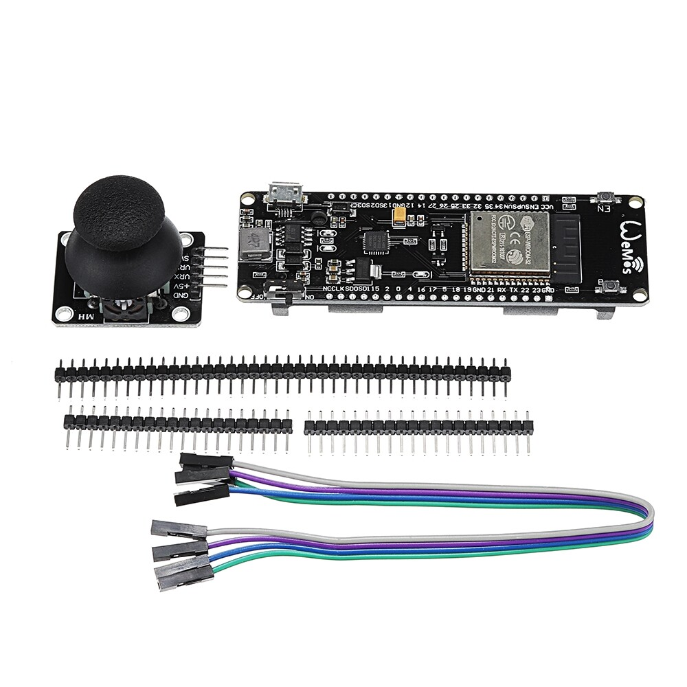 Motherboards - LILYGO ESP32 Joystick Kit Wifi + BLUETOOTH Module Development Tool - Components