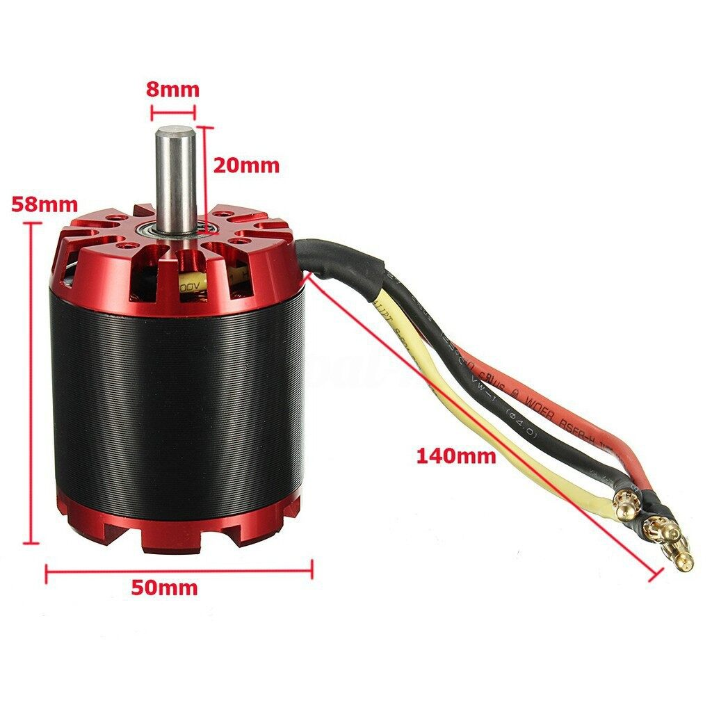 Moto Spare Parts - N5065 270KV High Efficiency Brushless motor - Motorcycles, & Accessories