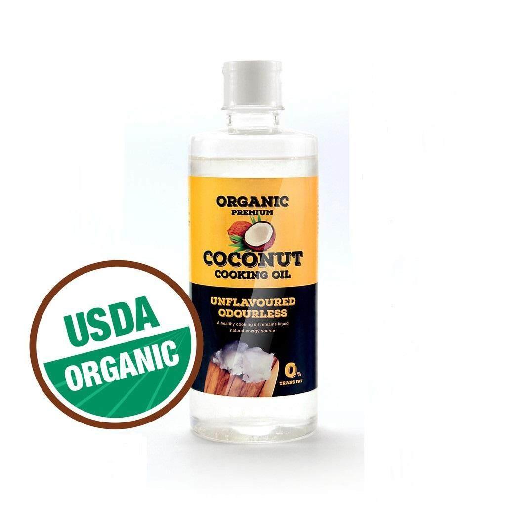 Organic Premium Coconut Cooking Oil 500ml