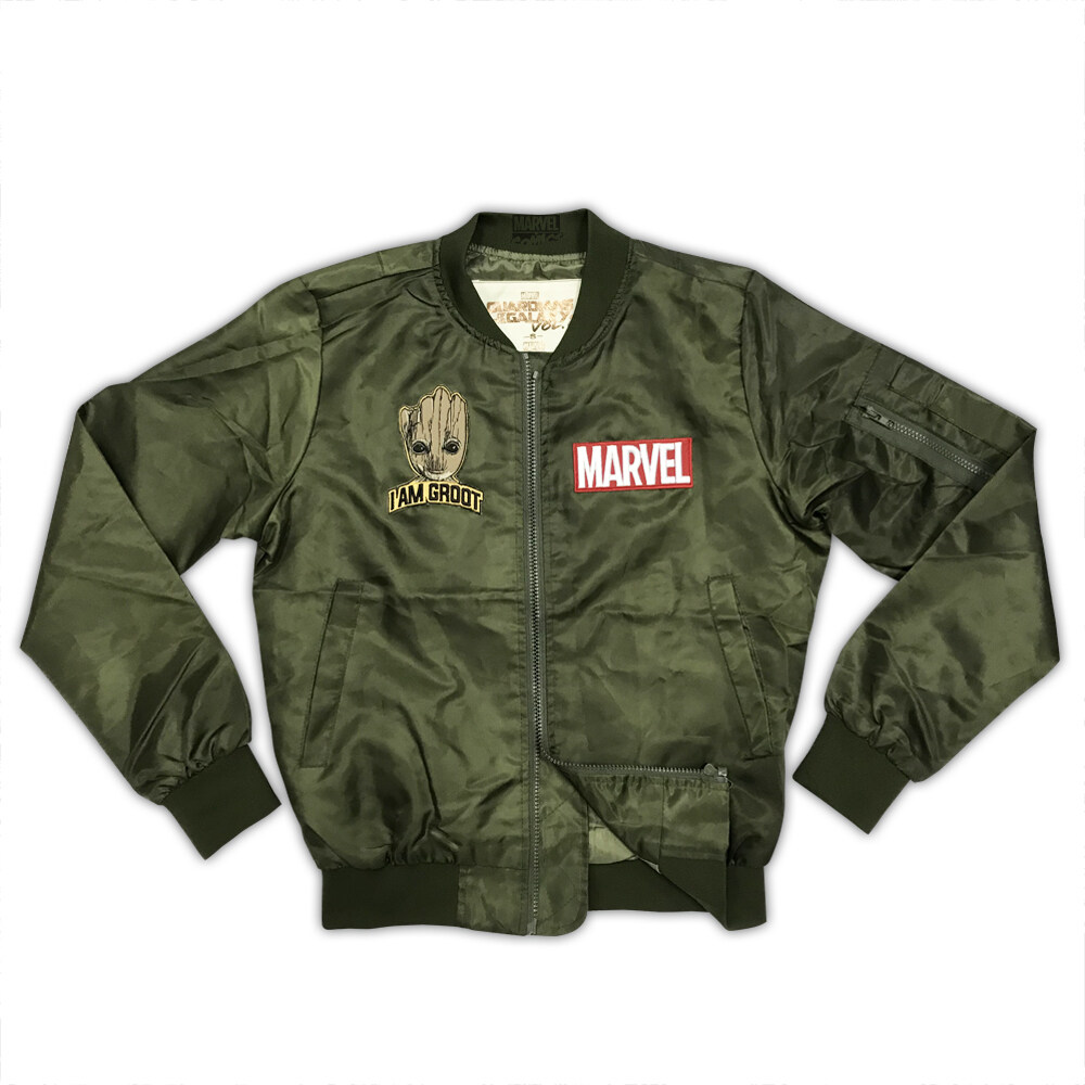 Marvel Cook Style Jacket - TRU18331J Army