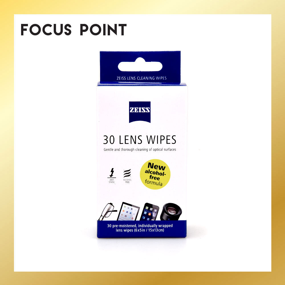 Zeiss Lens Cleaning Wipes (30 PCS)