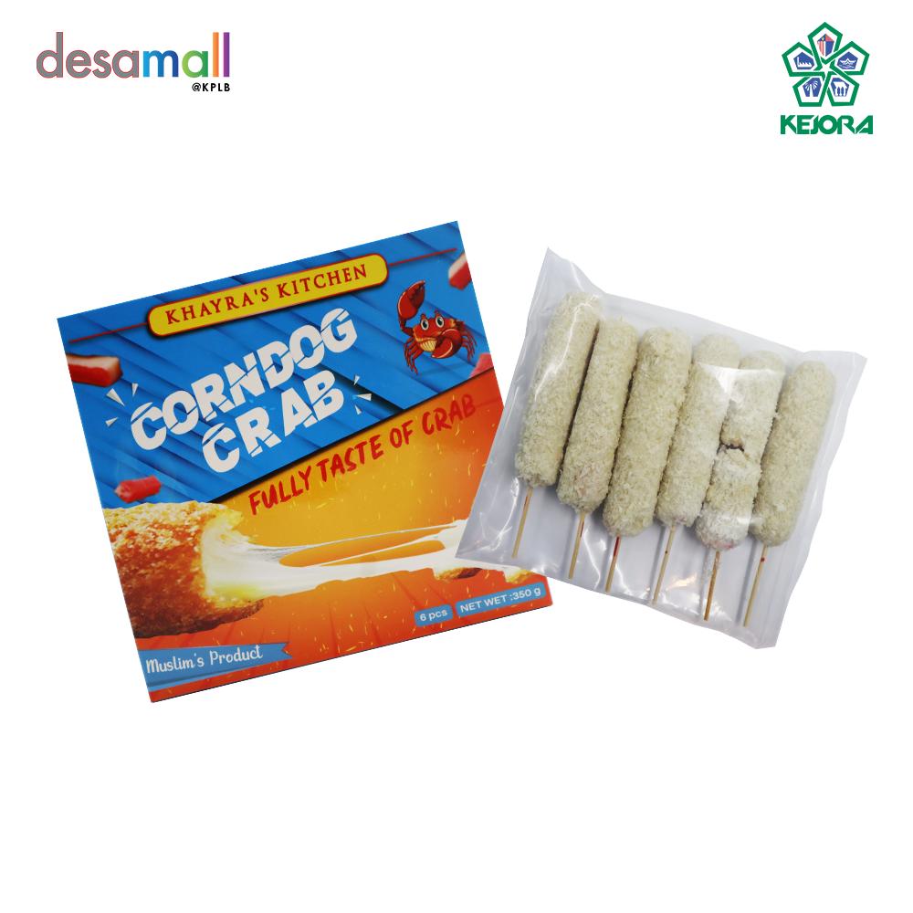 KHAYRA\'S KITCHEN Corn Dough Mozzarella Crab Corn Dough Mozarella Crab - 6 sticks