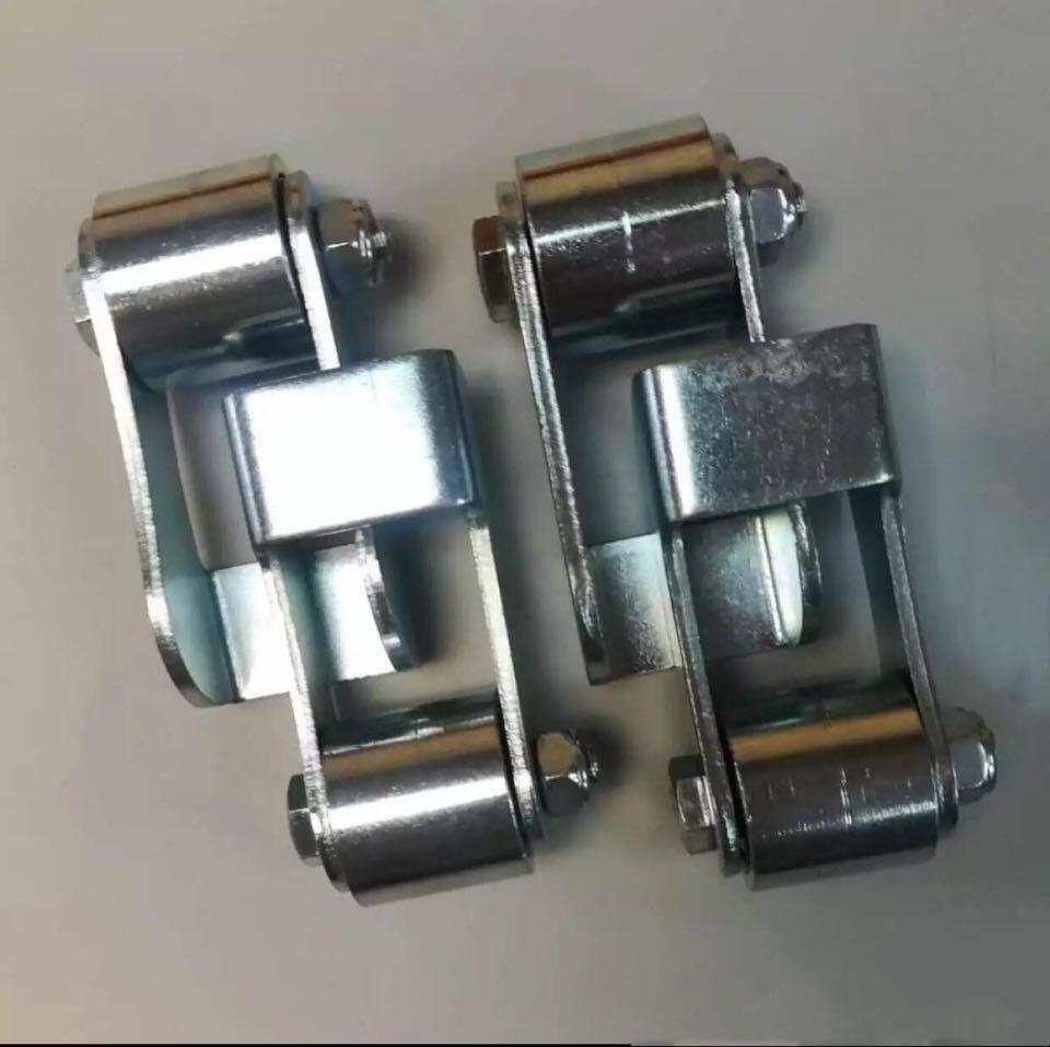 Set Of Folding Gate Flexible Bearing (Weld On Folding Gate Fold Side Flexible Bearing With Bracket) (4Pcs)