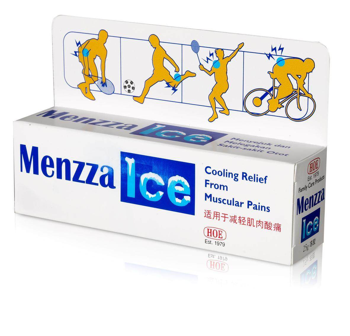 Menzza Ice Gel Cooling Relief 25g