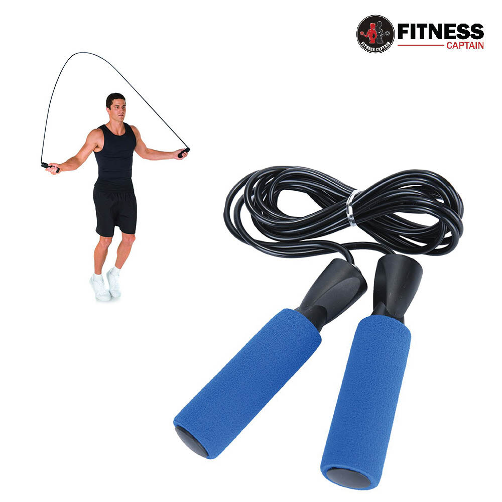 Fitness Captain Gym Skipping Rope Workout Exercise