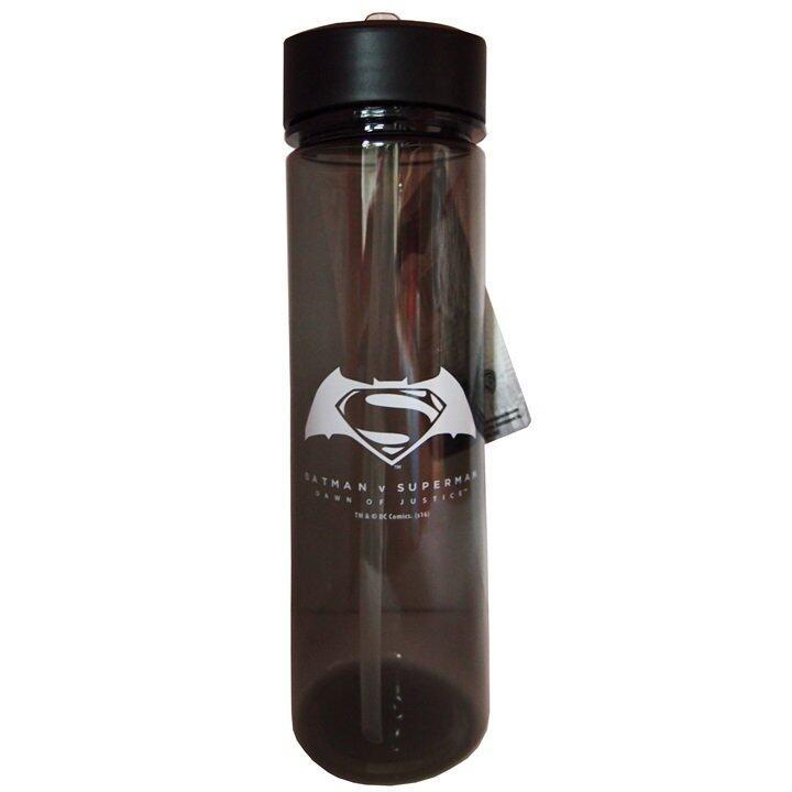 DC Comics Batman VS Superman Water Bottle - Brown Colour
