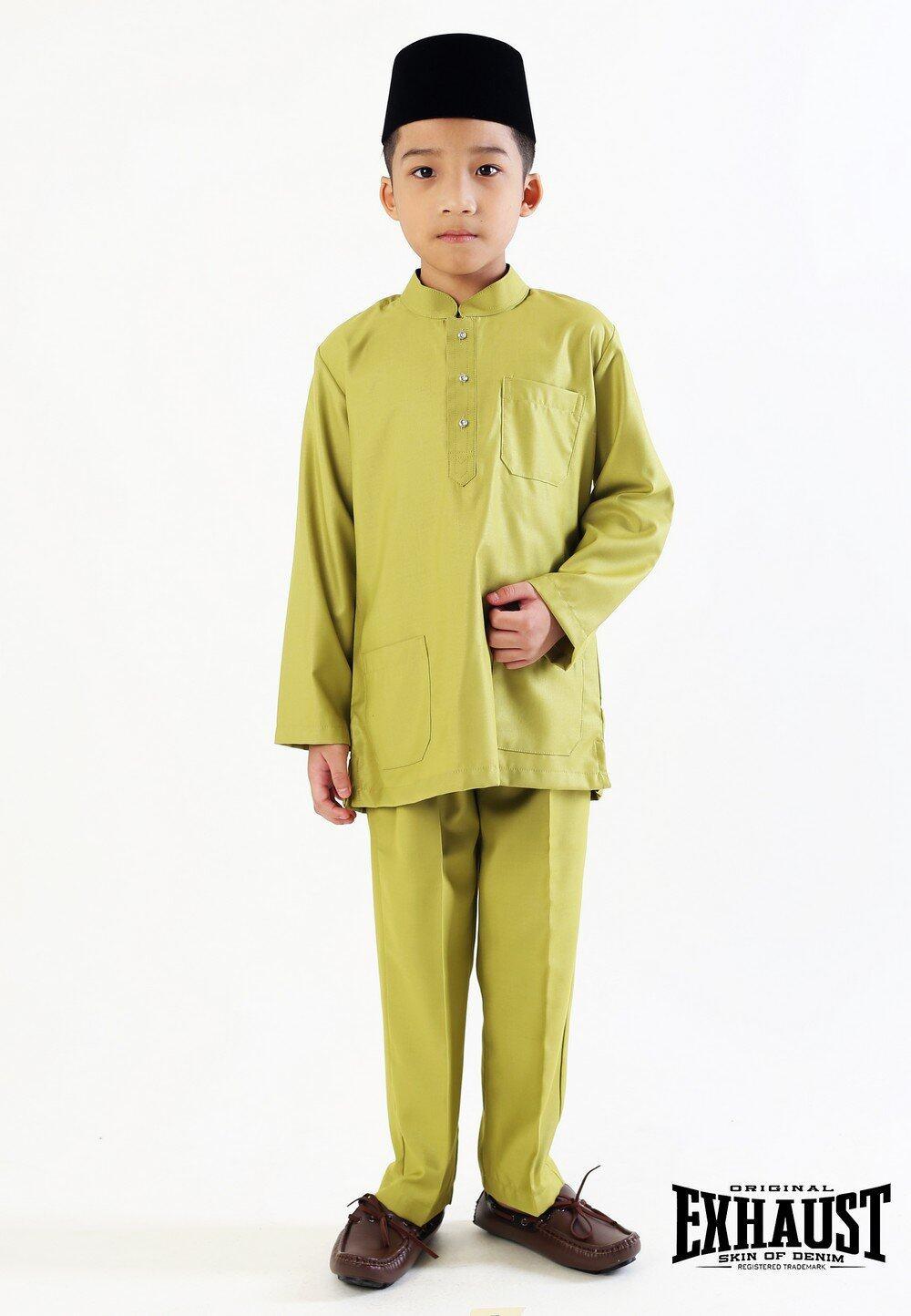 Exhaust Baju Melayu Modern Fashion Kids 88625#2
