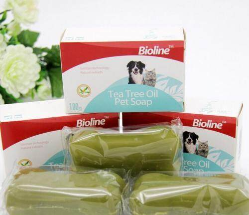 Bioline Tea Tree Oil Pet Soap 100g - Dog & Cat Soap Nr.2040