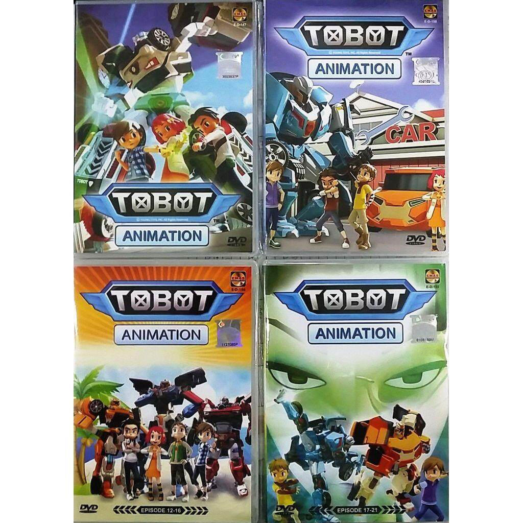 TOBOT Animation Vol.1-21 Anime DVD