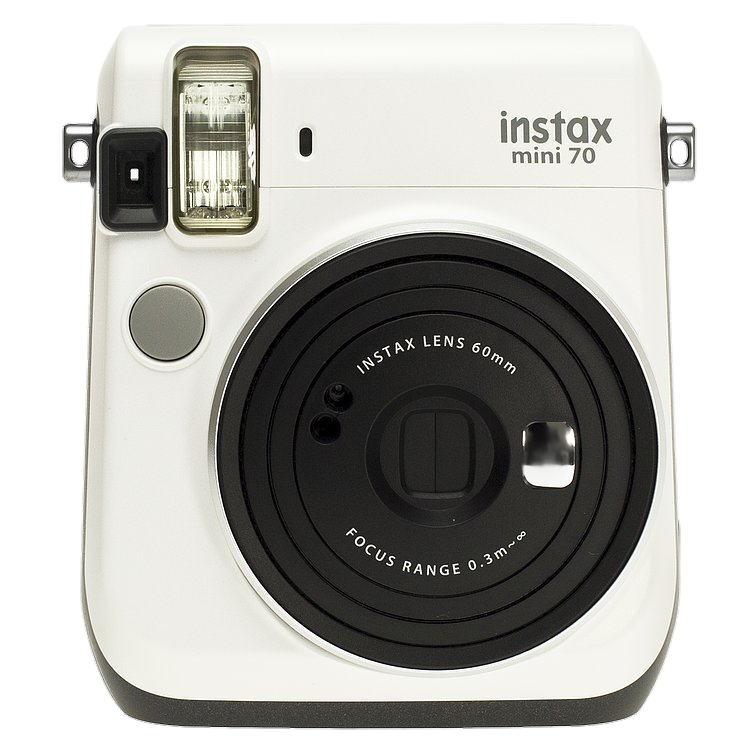 FUJIFILM INSTAX Mini 70 Instant Film Camera (Moon White) Stock Clearence