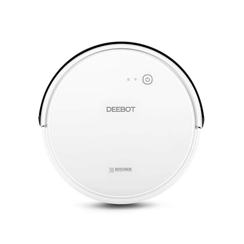 ECOVACS DEEBOT 600 Robot Vacuum Cleaner With Smart move /Intelligent Route Planning /APP Control 【Local Shipping&1 Year Local Warranty】