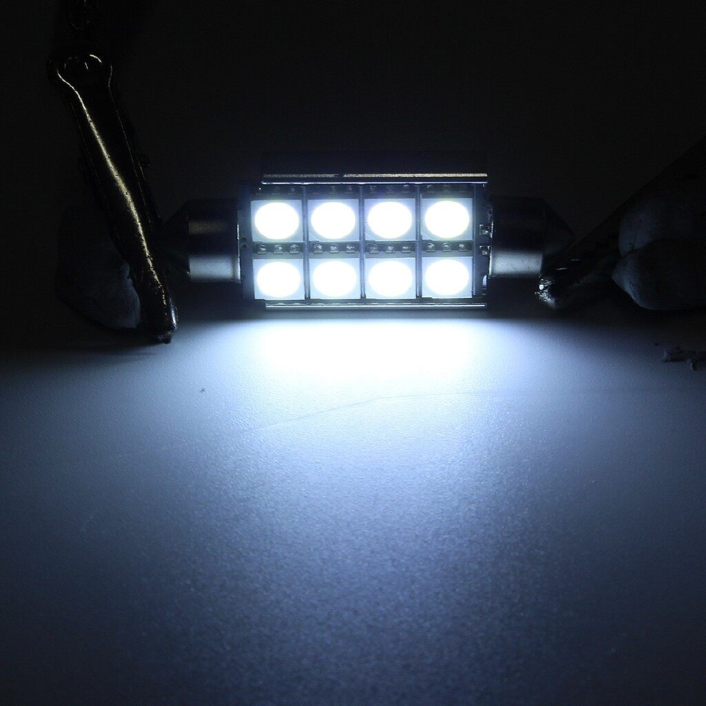 Car Lights - 14 PIECE(s) Interior LED Car Light Kit Pure Xenon White Bulbs For VW GOLF MK4 IV - Replacement Parts