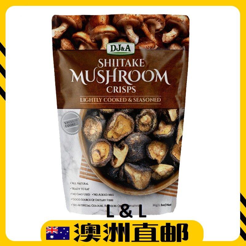 [Pre Order] Australia Costco DJ&A Shiitake Healthy Snack Mushroom Crips ( 150g ) (Import from Australia)