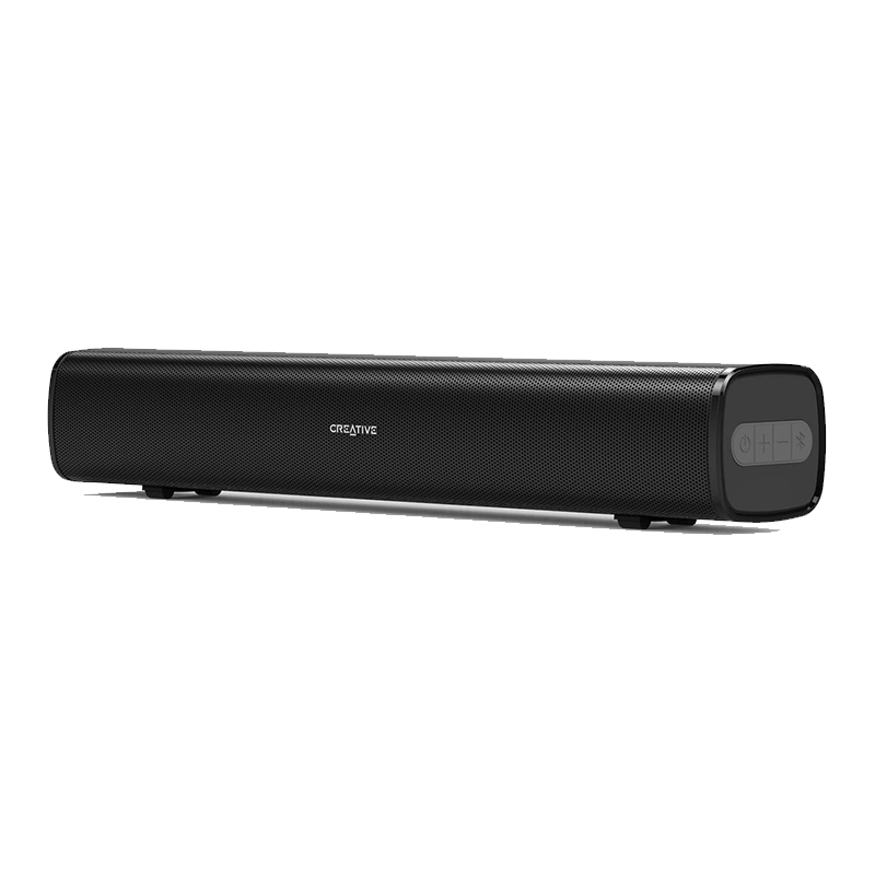 Creative Stage 2.1 Soundbar with Bluetooth Connection Powerful Audio Entertainment System Audio Customization And Convenience