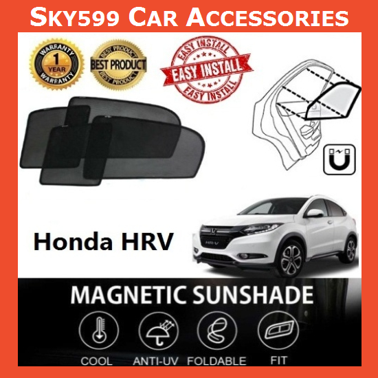 Honda HRV Magnetic Sunshade ?4pcs?