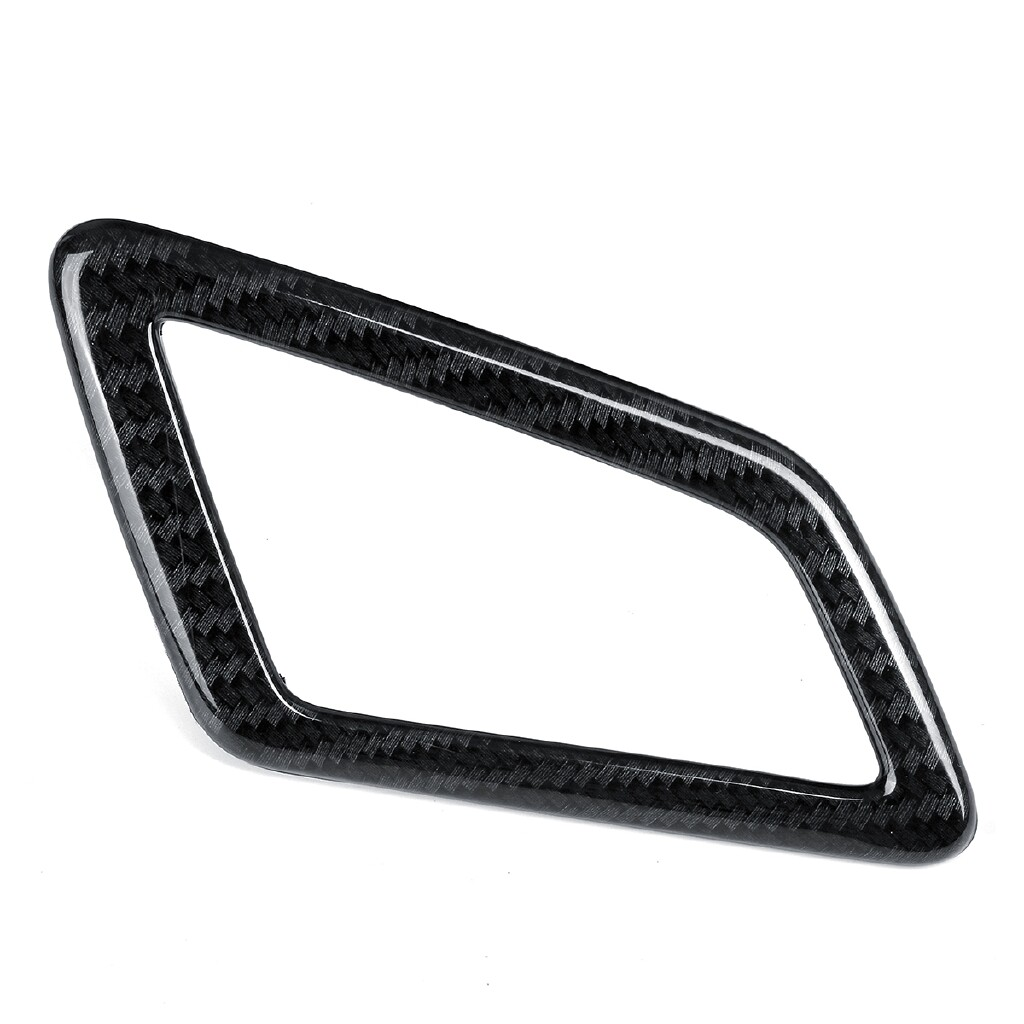 Car Accessories - Carbon Fiber Style Spray Dashboard Air Vent Cover LHD For Honda Civic 10th - Automotive