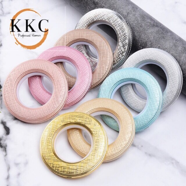 KKC Unique Design Curtain Eyelet Ring / Gelang Eyelet Langsir - Ready Stock from MALAYSIA