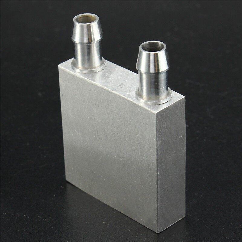 Cool Gadgets - Aluminum Water Cooling Block for CPU Graphics Radiator Heatsink 404012 - Mobile & Accessories