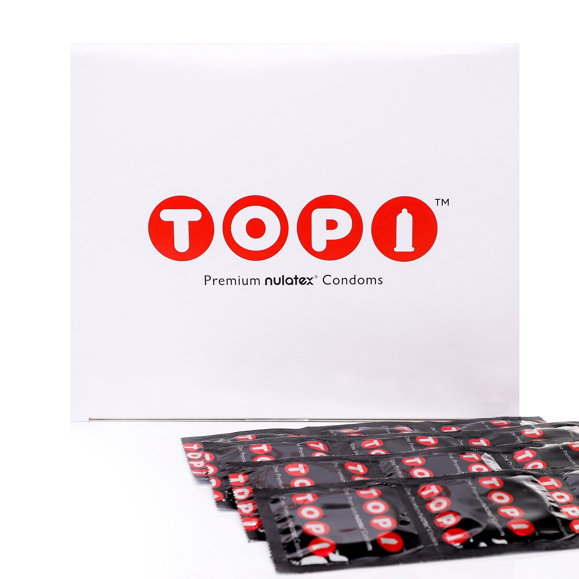 Nulatex TOPI Condoms (Studded)