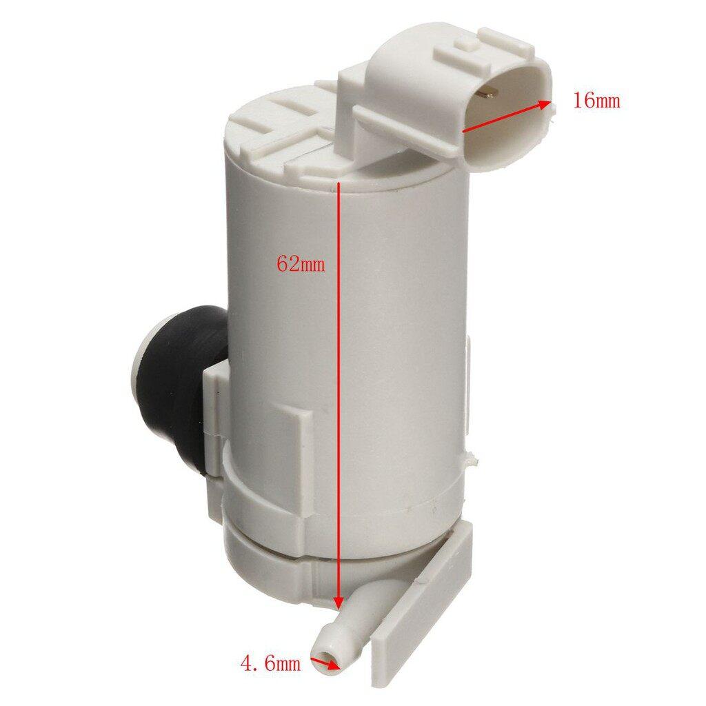 Wash & Wax - Front Windscreen Washer Fluid Pump For Nissan Navara Pick Up D22 2001- 2005 - Car Care