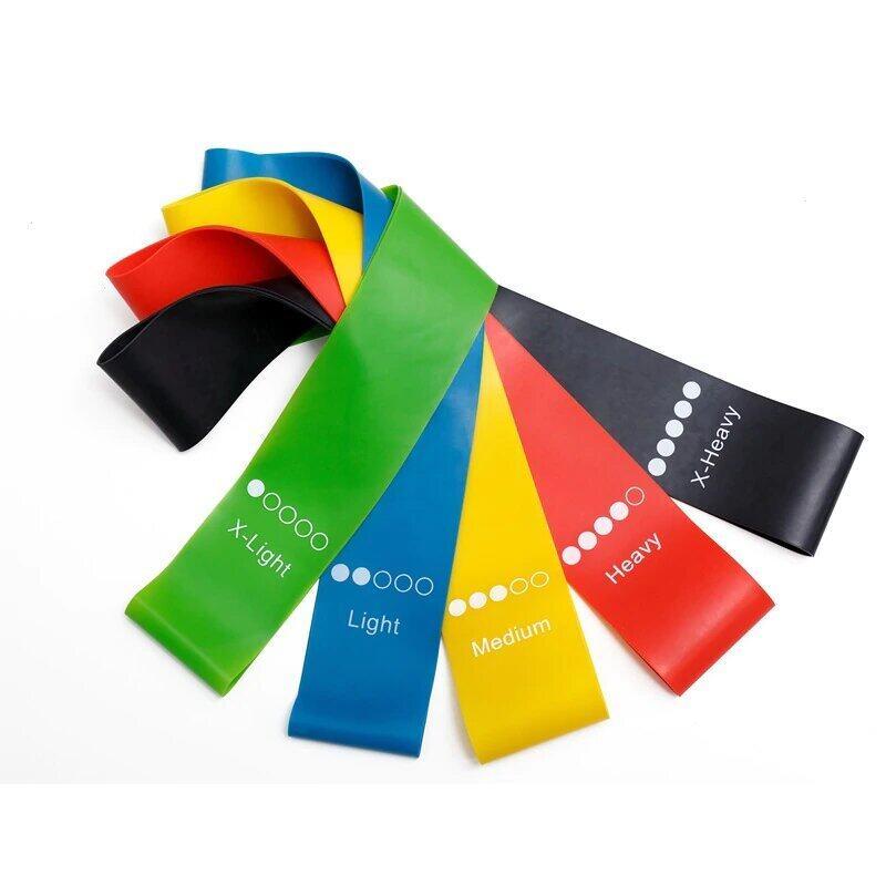 Yoga Resistance Rubber Bands Fitness Gum Pilates Sport Training Workout Elastic Bands Fitness Equipment 15944015
