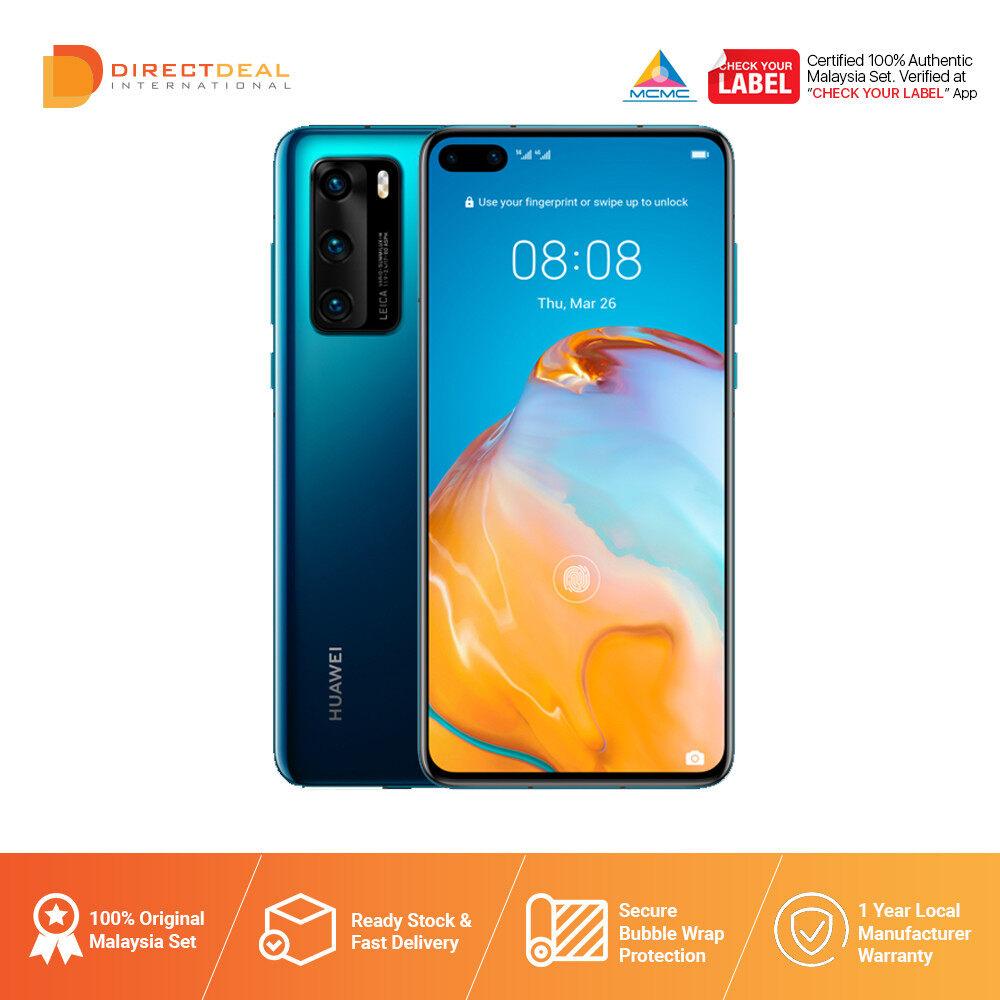 {READY STOCK] Huawei P40 Smartphone (8GM RAM + 128GB ROM) Original 1+1 Year Huawei Malaysia Warranty (MY SET)