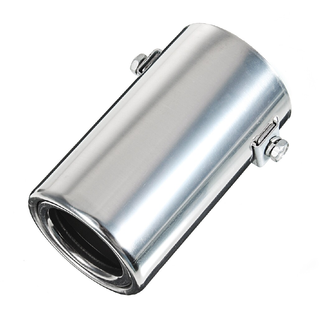 Exhaust - Car Exhause Muffler Stainless Steel Pipe Modified Car Rear Tail Throat Liner - Car Replacement Parts