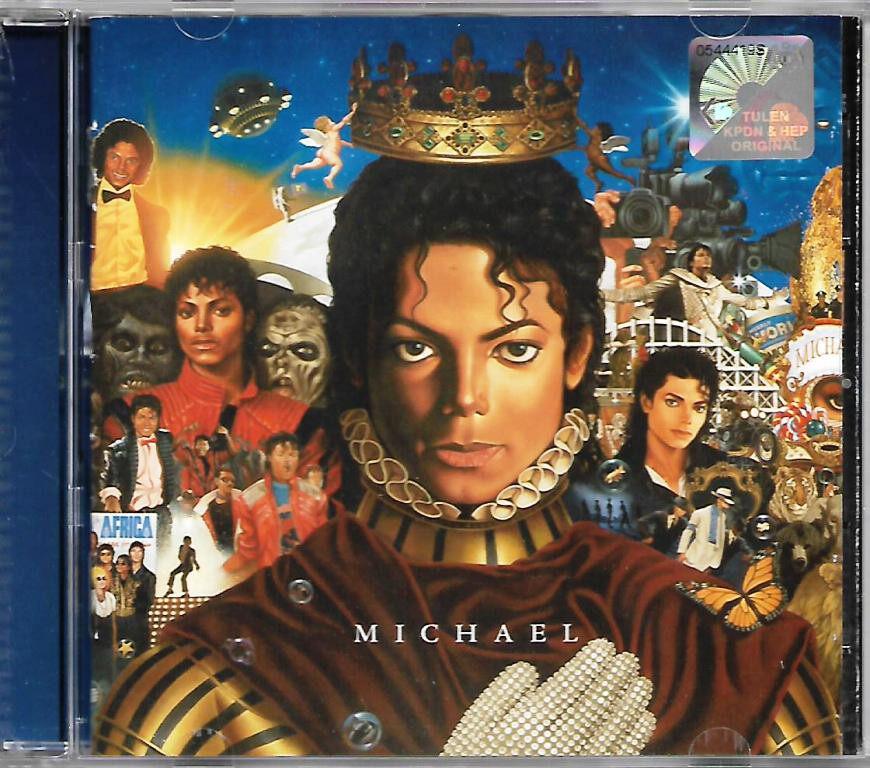 Michael Jackson - Michael CD Best Compilation + Unreleased Tracks Album