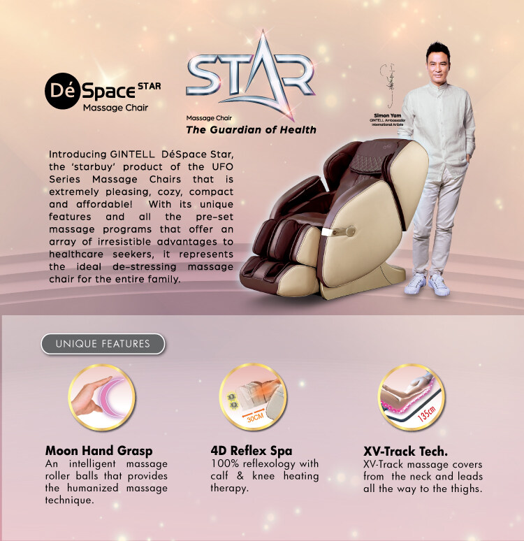 [FREE SHIPPING] GINTELL DeSpace Star Massage Chair