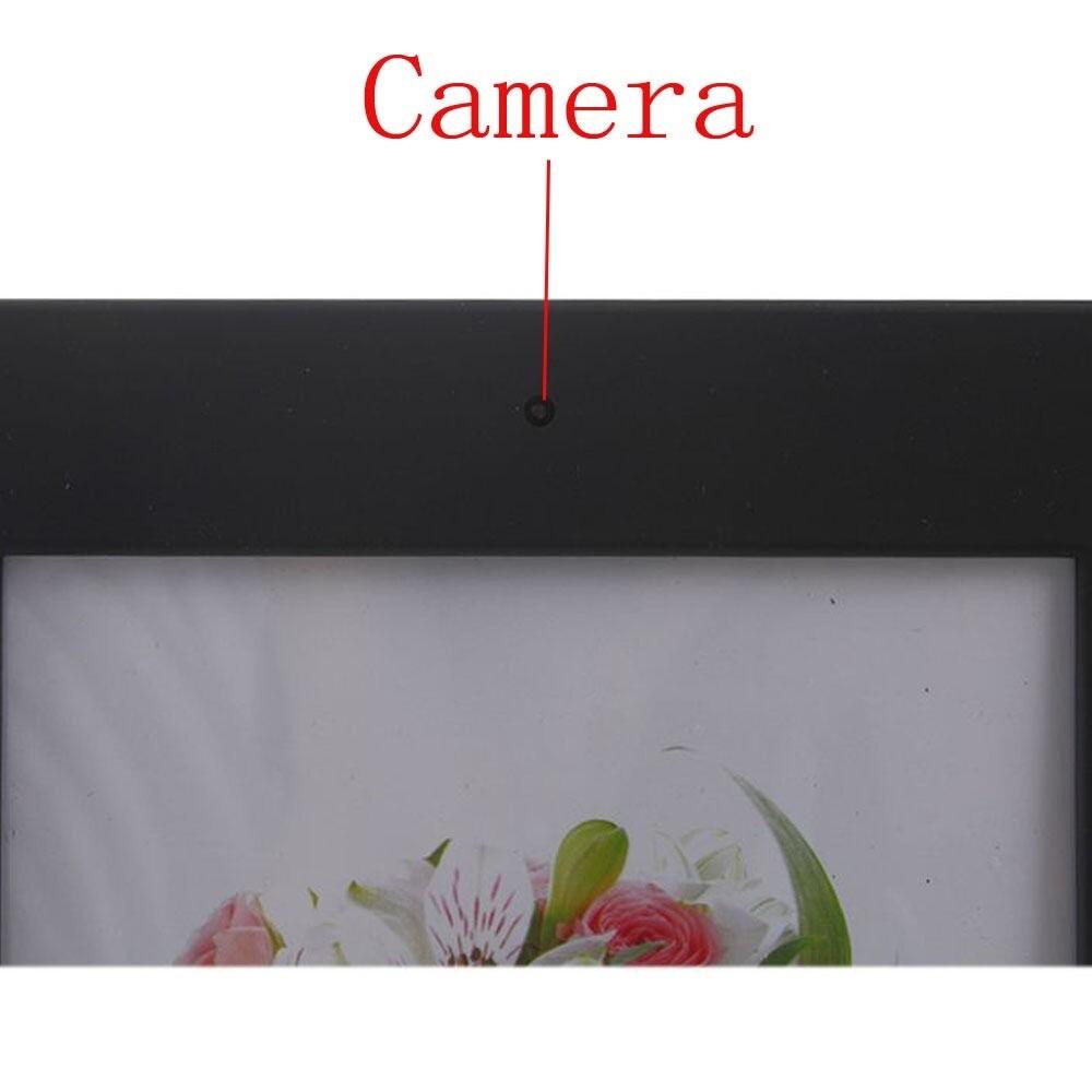 720P MINI DV Photo Frame Home Hidden Spy Camera Audio Recorder Motion Detector - BLACK