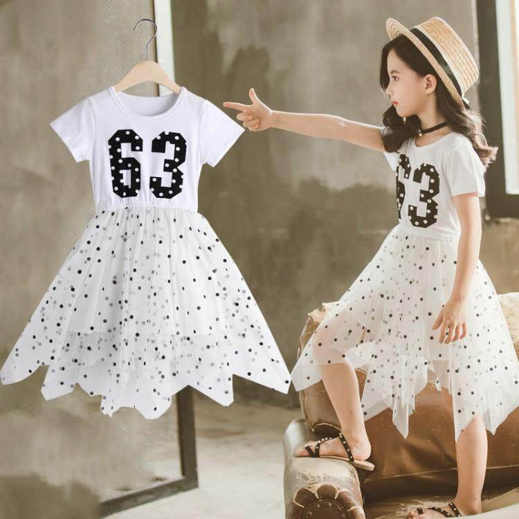 (Pre Order14 Days JYS  Fashion Korean Style Kids Girl Dress Collection -5187906col518-7906--White -150