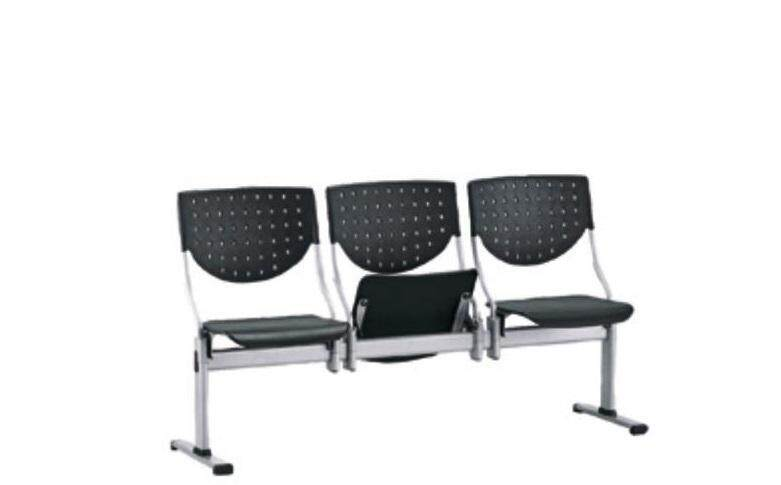 (FREE Delivery Klang Valley) Sunchez 3 Seater Link Chair, (Mesh/Fabric)