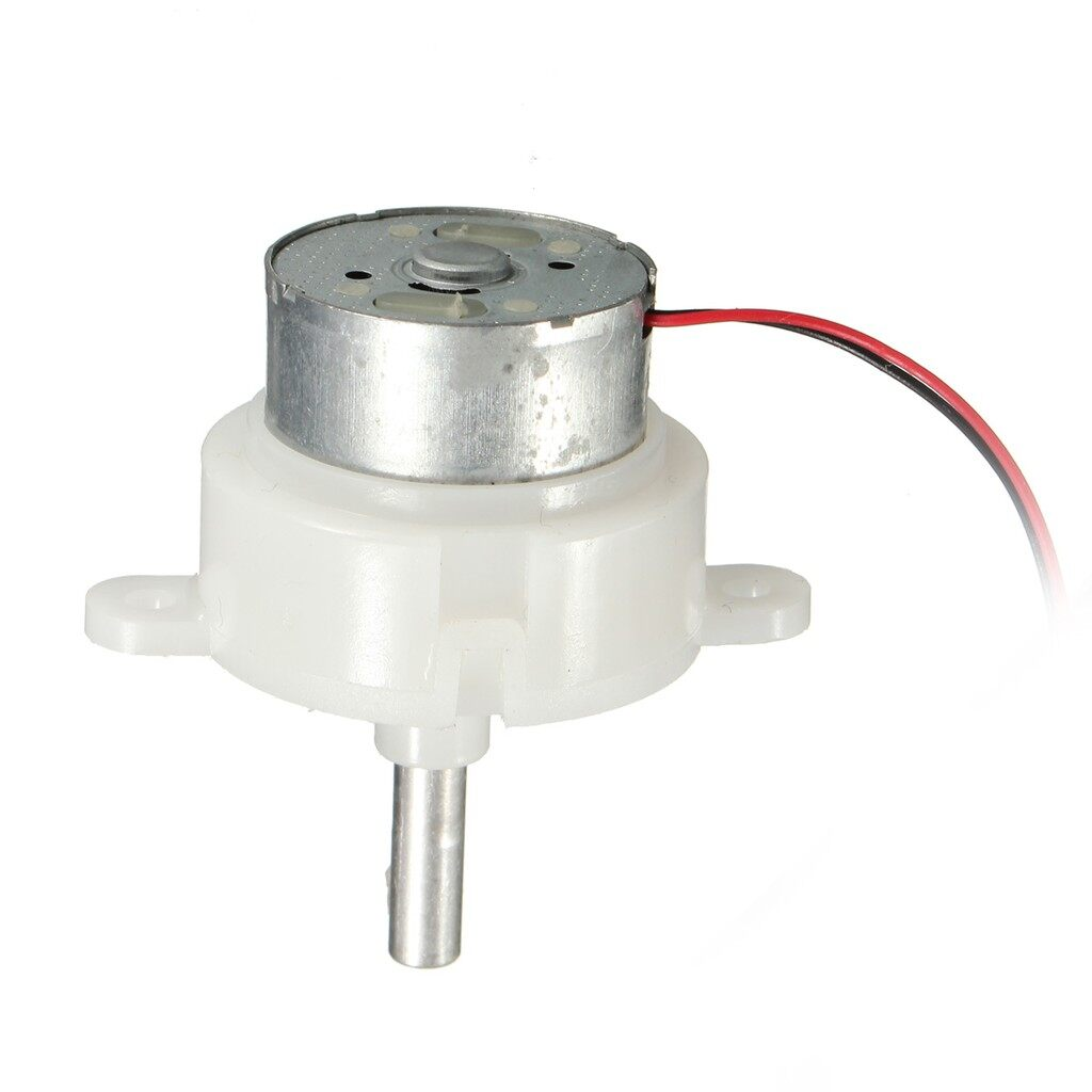 Moto Spare Parts - 2 PIECE(s) DC 5v 6v 9v 12v Worm Gear Motor long shaft gear motor low speed 5-12 RPM - Motorcycles, & Accessories