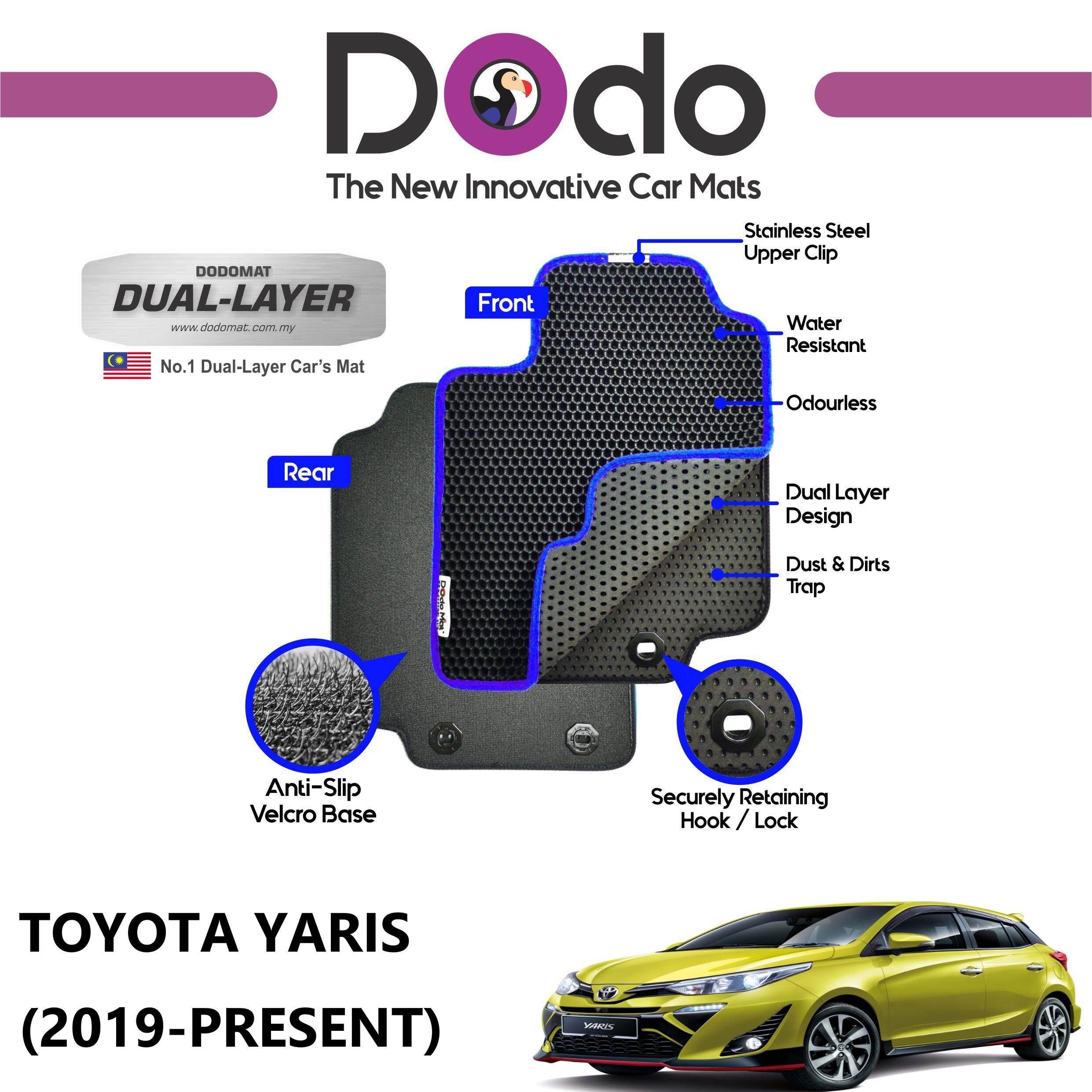 DODOMAT Car Mat TOYOTA YARIS (2019-PRESENT) BASIC