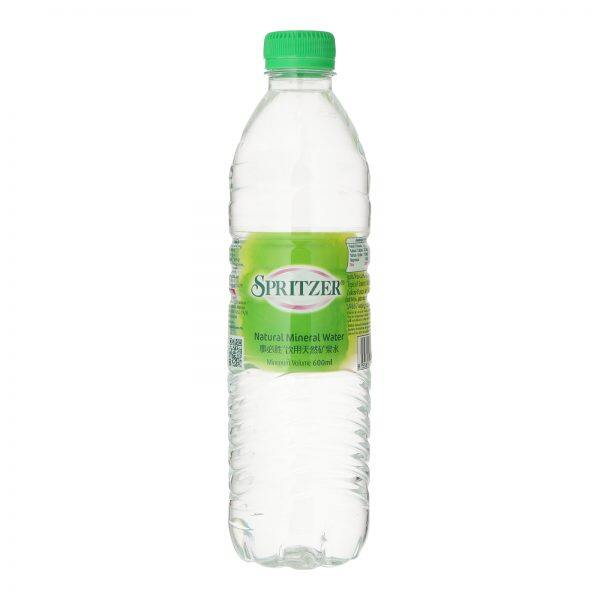 SPRITZER NATURAL MINERAL WATER 600ML
