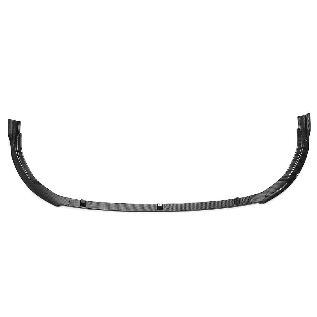 Car Accessories - Front Bumper Lip Spoiler Carbon Fiber Look For Toyota Camry L LE XLE - Automotive