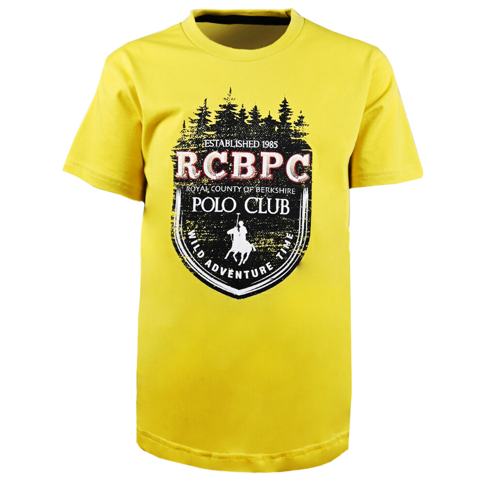 RCB POLO CLUB BOYSROUND NECK TEE RMRN11223-BB OY16