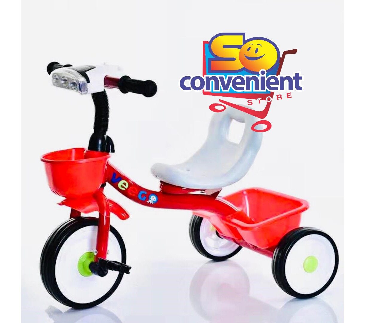408-A Kids Tricycle with Music & Light