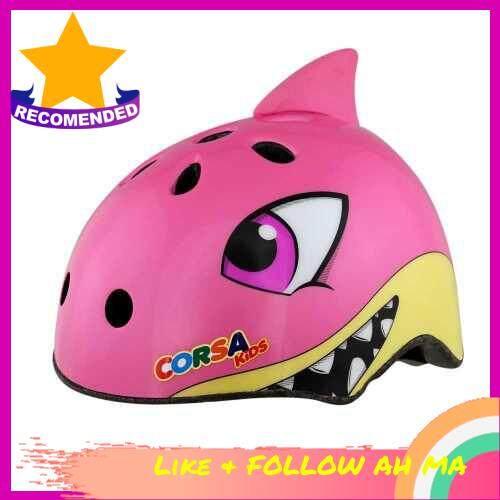 Best Selling Kids Helmets Safety Helmet Lightweight Cute Pattern Breathable Vents Shock-absorbing Bike Cycling Equipment Sport (10S)