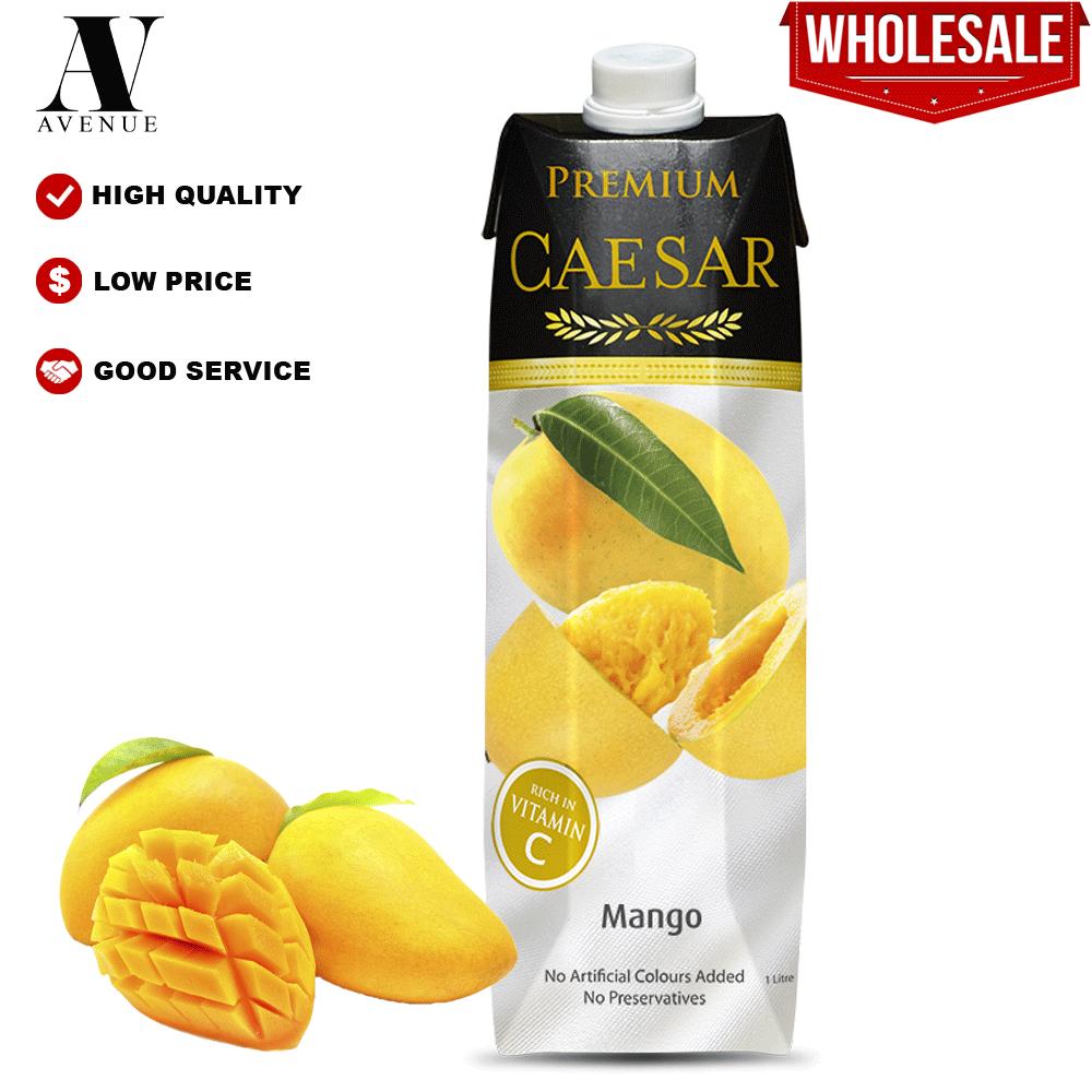 Caesar juice Mango 1L Tetra Pack عصير سيزر مانجو كرتون