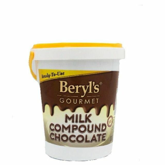 Beryl's Gourmet Milk Compound Chocolate 1KG