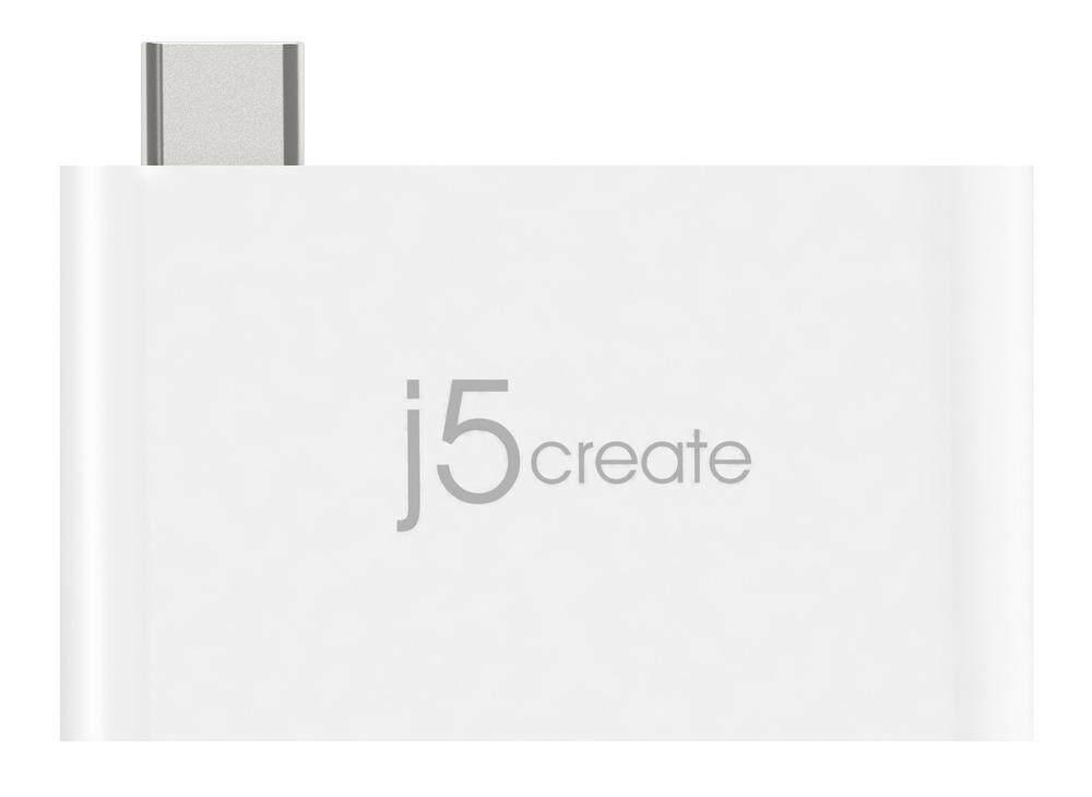 J5 Create JCH349-1O Type-C Charging Bridge USB Hub