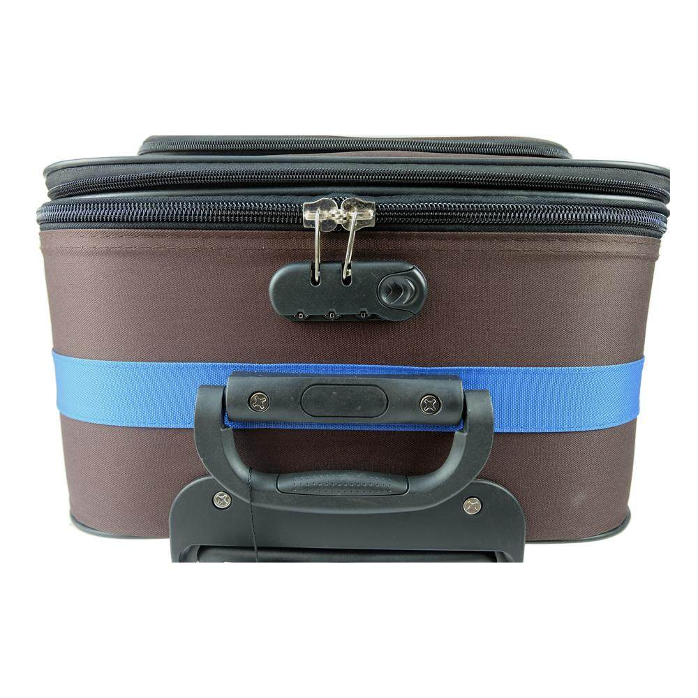 Poly-Club BE9820 28inch 2W EVA Expendable Softcase Luggage- Coffee/Blue