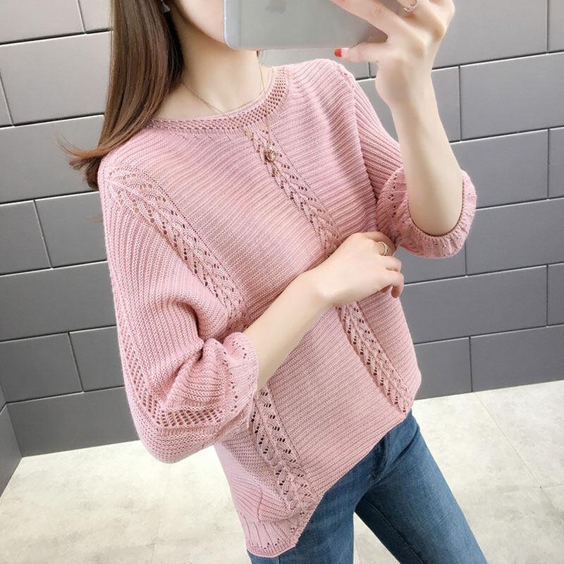 Pre order 14 Days JYS FashionKoreanStyleWomenKnitTopCollection4779 Pink M col 5361