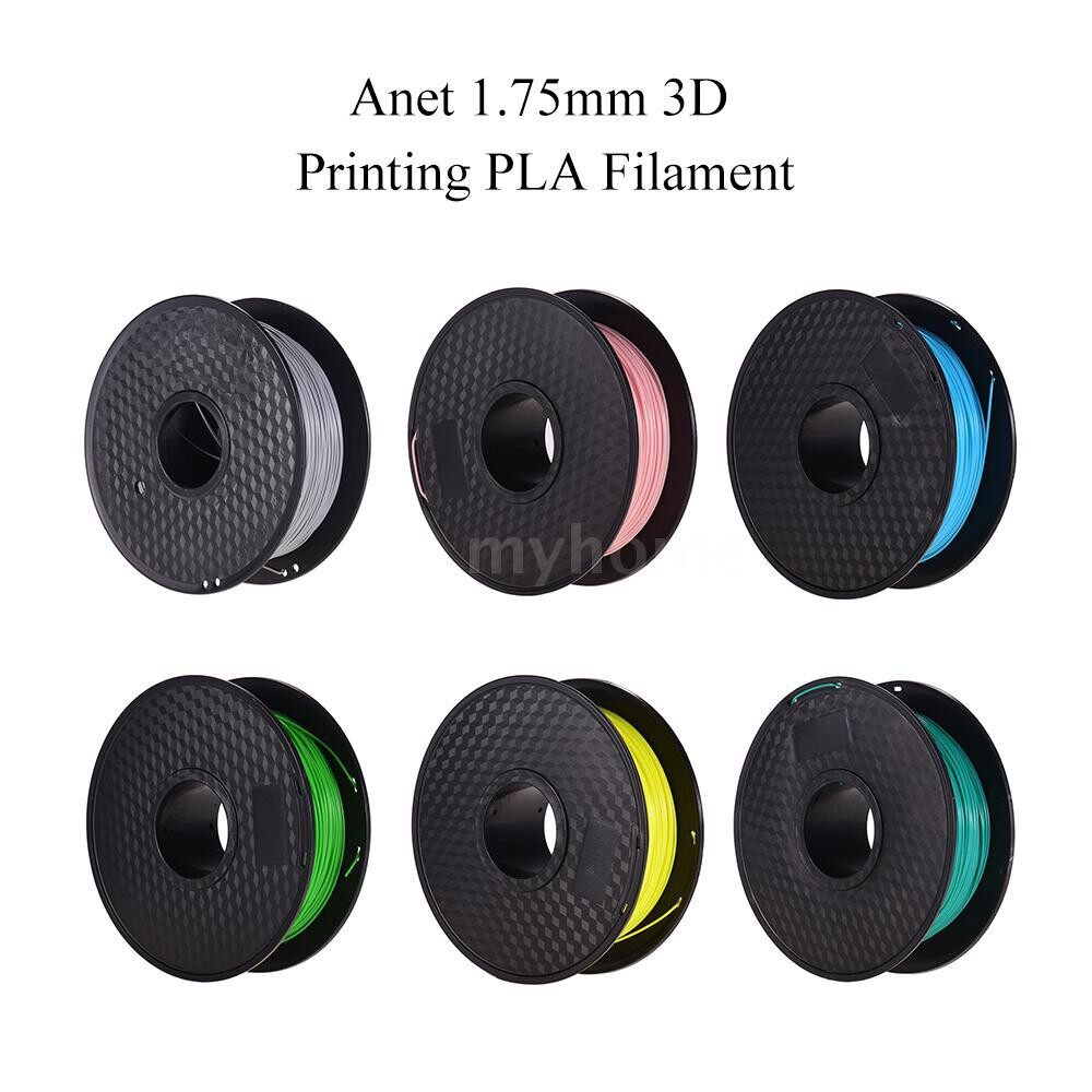 Printers & Projectors - Anet 1.75mm 3D Printing PLA Filament Dimensional Accuracy 0.02mm No Clogging Filaments Printing - PINK / SKY BLUE / FLUORESCENT GREEN / FLUORESCENT YELLOW / GREEN / WHITE / GREY / TRANSPARENT / BLACK