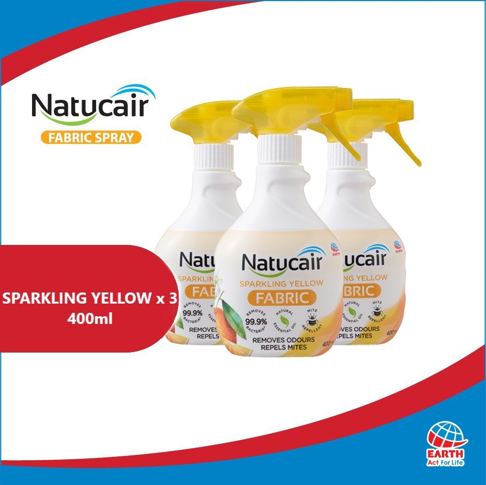 Natucair Fabric Spray Assorted Variants Bundle of 3 [400ml x3]EHB000012h