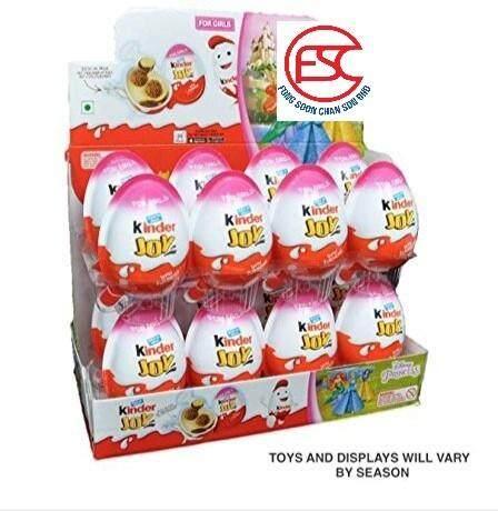 [FSC] Kinder Joy Toy With Chocolate (Girl) 24pieces