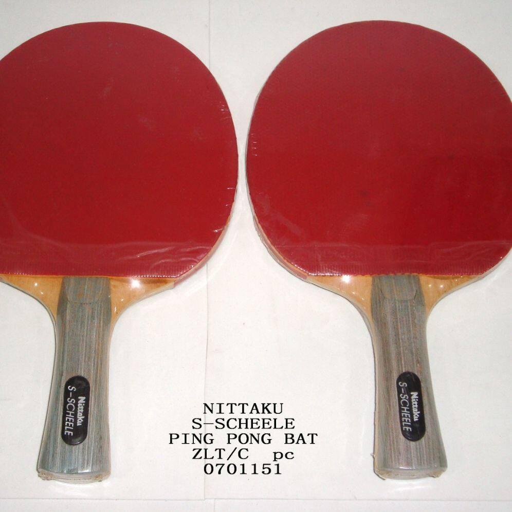 NITTAKU TABLE-TENNIS BAT  (Double sided) x 1pc